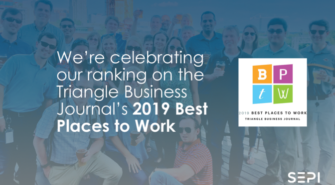Sepi Earns Triangle Business Journal Best Places To Work Award Sepi Inc